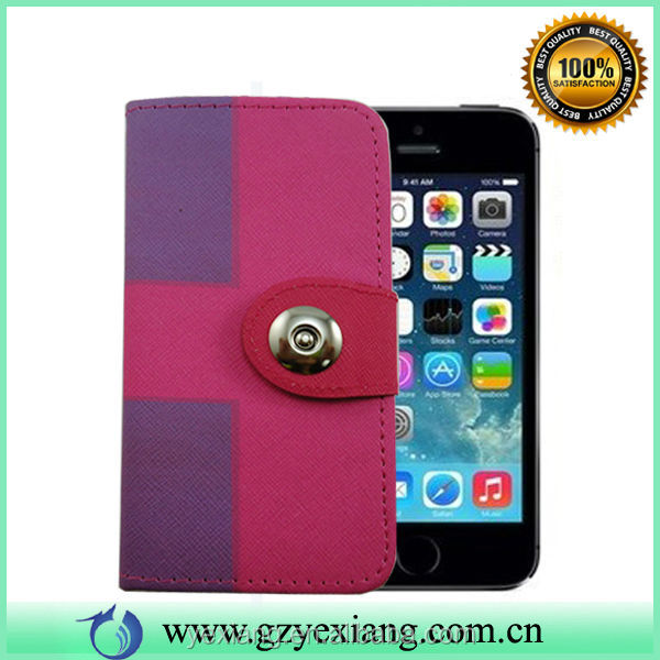 Wholesale Detachable Wallet Leather Case For Iphone 5 5s Flip Cover