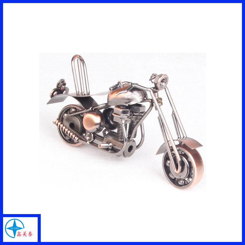 Top popular metal Retro motorcycle model for decoration