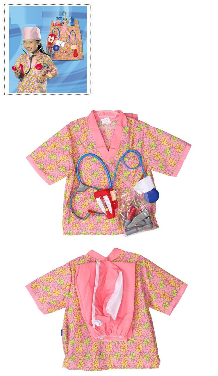 7000968-Girls Halloween Costumes Hospital Nurse Cosplay Clothing Kids Stage Wear Clothes Children Halloween Party Free Drop Ship
