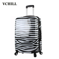 Factory price decent travel hard case women luggage