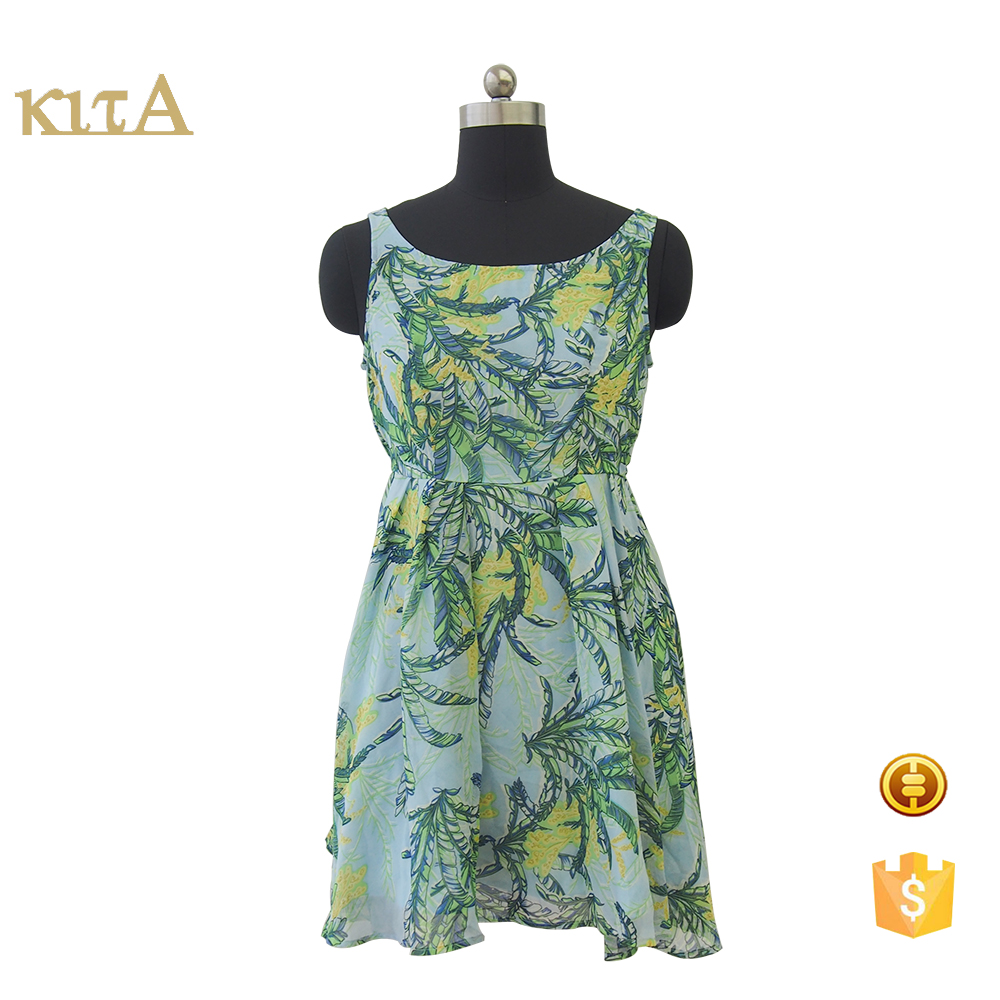 women summer fashion printed halter long umbrella dress