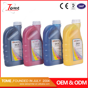 Digital printing custom water based flexo ink / solvent based ink