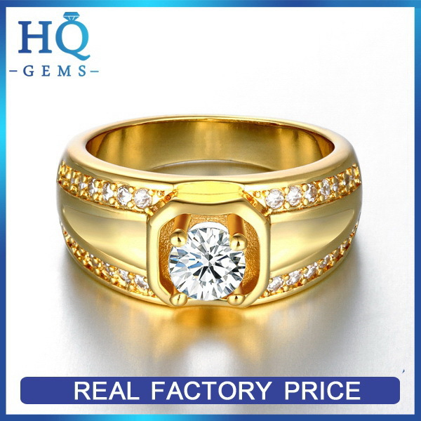 Top level classical gents gold rings
