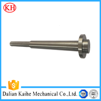 precise shaft machining anodizing aluminum nylon steel alloy eccentric sleeve