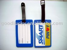 2012 Best quality promotional gifts soft pvc luggage tag