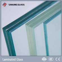 Clear Laminated Glass 6 38mm