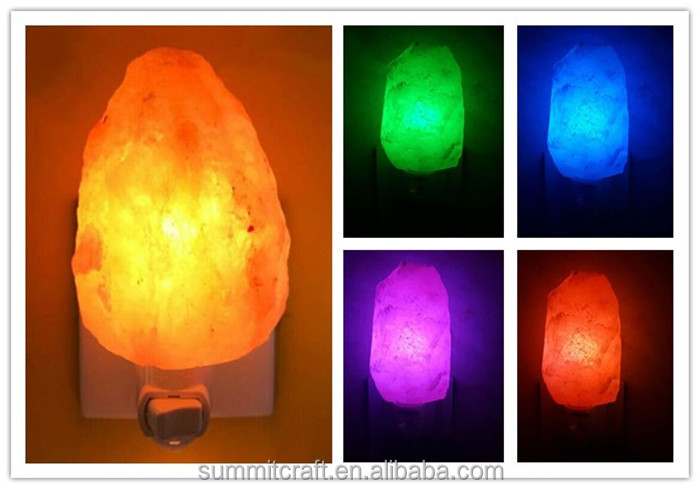 Export unique natural himalayan salt lamp night light