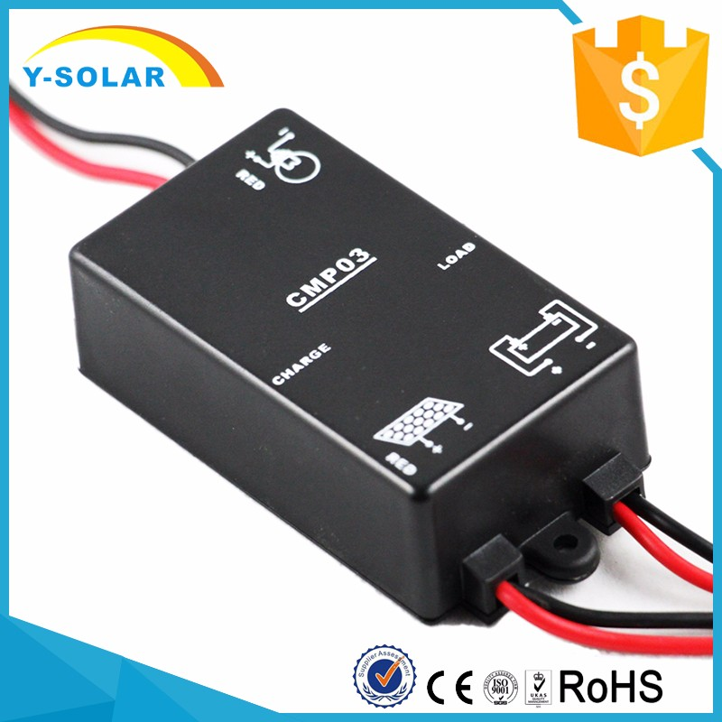 Y-Solar 12V 3A Solar Street Light Charge Controller