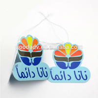 fashion Promotional Environmental Paper air freshener squash air freshener