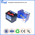 Korean car battery 12v 62ah maintenance free auto battery