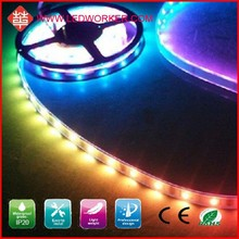 CE ROHS Approved TM1803 32LED/M 5050 Rgb Led Chase Strip DC5V 10W IP67 From Ledworker