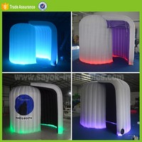 wedding led lighting used inflatable photo booth enclosure tent for sale