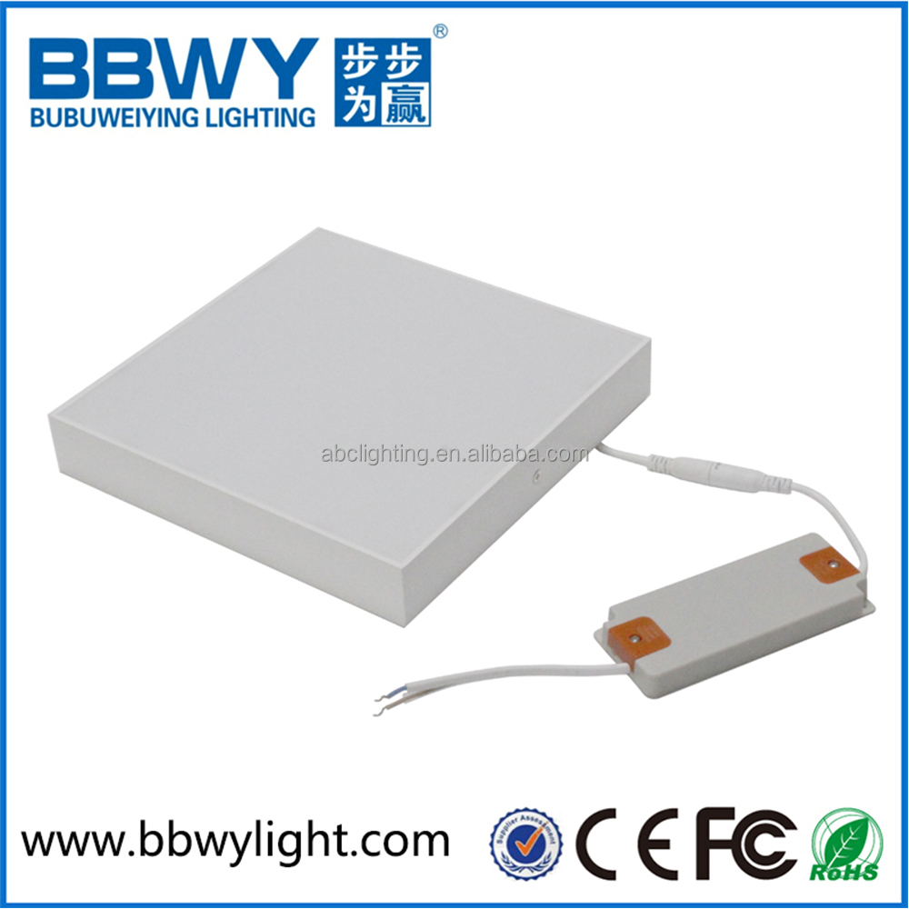 2017 New hot high brightness energy saving dimmable square 30w led panel down light