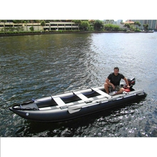 2016 China wholesale cheap pvc inflatable small electric fishing boat for sale
