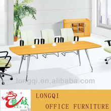 hot sale best price high quality aluminum frame wooden melamine modern conference desk meeting table
