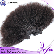 New Arrival cheap 5a brazilian human hair 100% raw virgin afro tight curly for human braiding hair
