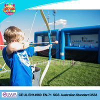 Wholesale inflatable archery targets fun sports game for kids