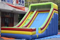 Kids Aduts Jumping Inflatable Slides Commercial Bouncer Castle Slide For Sale.