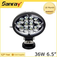 6.5 inch 36w led work driving light bars,car led lamp for tractor,SUV,Jeep