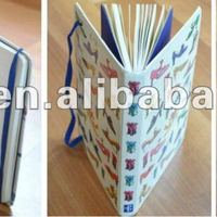 Hardcover Notebook With Elastic Band Ribbon