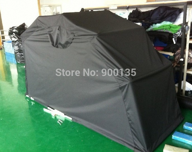 Opvouwbare outdoor waterdichte tent deksel motorfiets anti - Motorcycle foldable garage tent cover ...