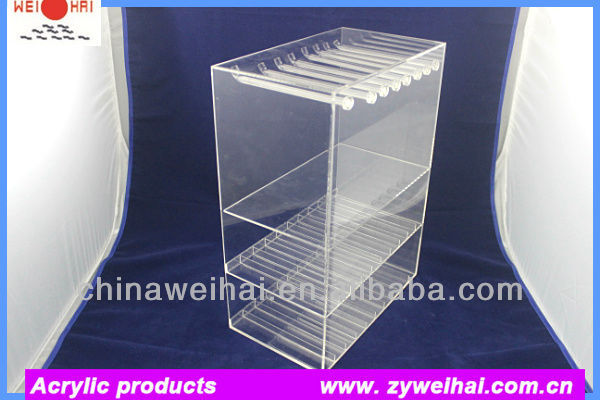 Clear Acrylic e cig Kits Display Stand
