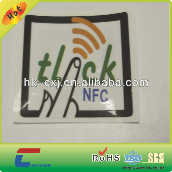 Type 2 nfc tag chip nfc sticker tag