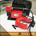 Heavy duty 160L/min CE Approved portable DC 12v air compressor with red hose