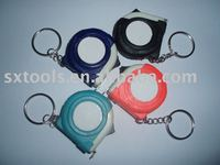 1 metre promotional keychain tape measure