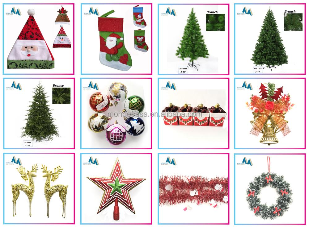 2015 Hottest Wholesale Plastic Hanging Christmas