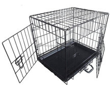 china double doors cheap large weld wire mesh dog cage for sale