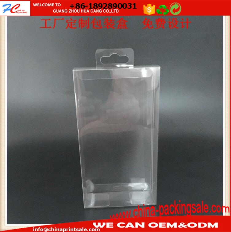 Square Plastic PVC box clear PET box frosted PP box for gift different size