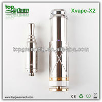 stainless steel mechanical mod Xvape X2 new ecig 2013 vamos v3 mod