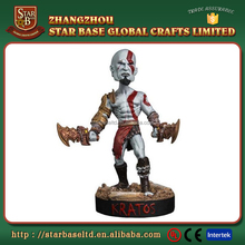 Factory Custom made best home decoration gift polyresin resin game figurine