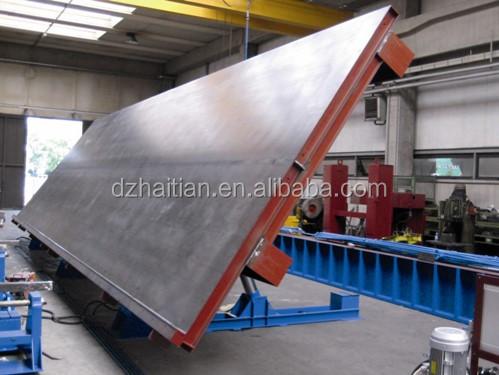 Concrete Tilting Table Molds Precast Wall Panel Casting