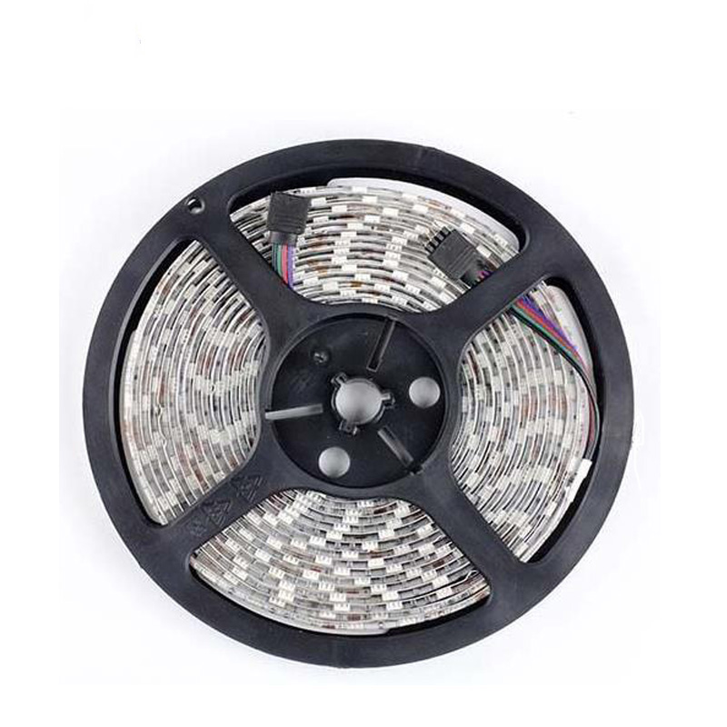 5050 RGB led strip non waterproof 5M 300 LED tape luminaria luz 12V Car home ribbon White Warm White Blue Red Green Yellow color