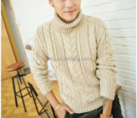 men's lastest korean young style sweater pullover