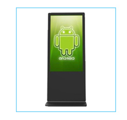 55 inch digital signage touch screen kiosk with samsung/lg/auo screen for commercial used