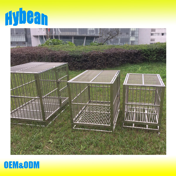 Wholesale stainless steel dog cage,large cage for dog