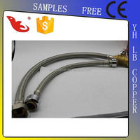 LB-Guten Top stainless steel double lock flexible hose for bidet