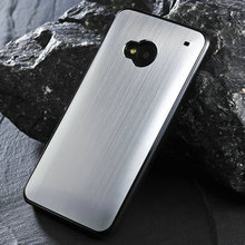 for htc one m7 back cover, aluminum bumper case for htc one m7 high quality