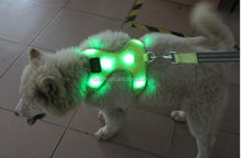 Newest wholesale led dog harness weighted dog harness car harness for dogs