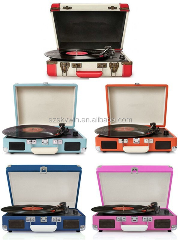 wholesale new product beautiful record player turntable record player vinyl records vinyl turntable player