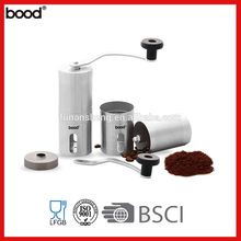 Mini Size Manual Portable Compact Coffee Grinder/ Amazon Hot Sale/Stainless Steel Coffee Mill/Burr