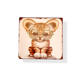 OEM factory square shape aluminum sign print the design of cute animals metal crafts tin sign