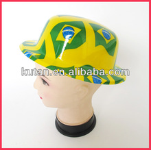 2014 Brazil World Cup Fans PVC Hat