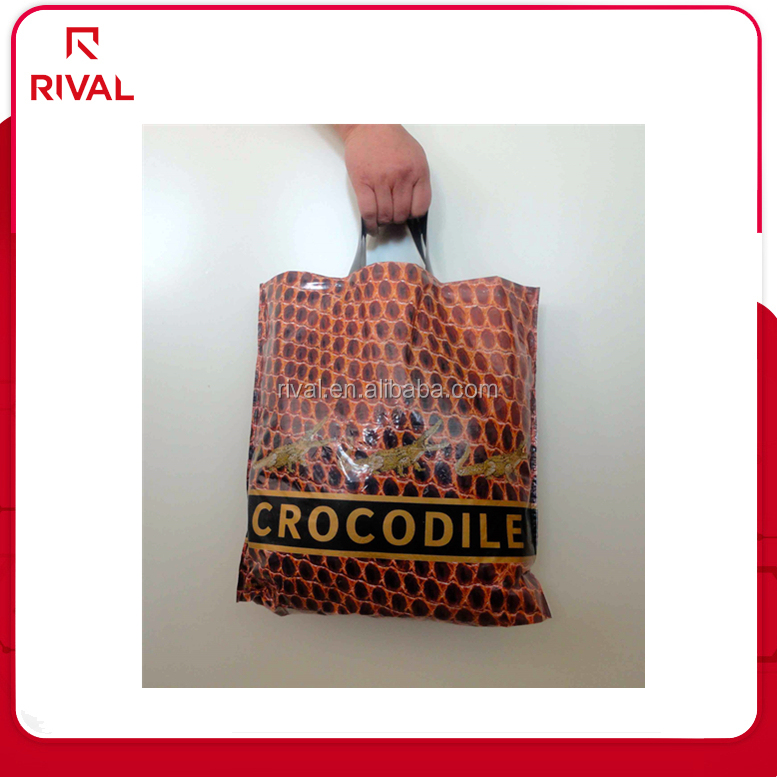 With your logo printed shopping plastic bags for shoes