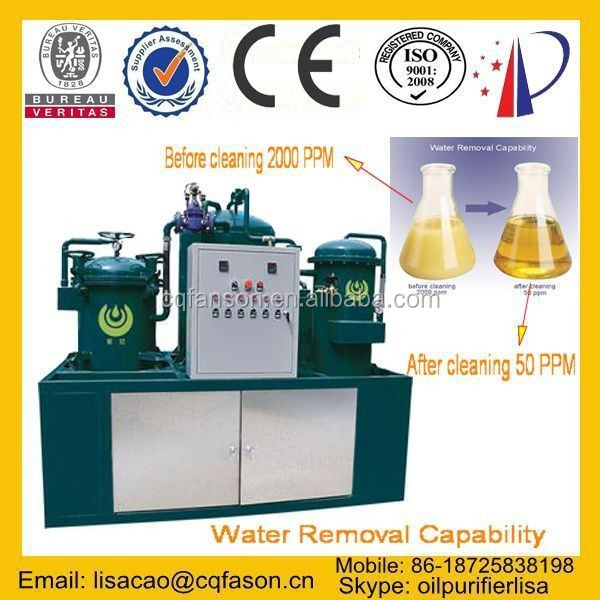 Waste transformer oil filter machine / Insulating oil regeneration purifier / transformer oil centrifuge machine