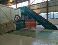 FDY-1250 full automatic hydraulic waste paper baler press machine