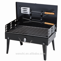2016 hot selling stainless steel charcoal bbq grills